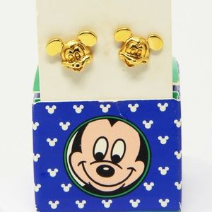 Vintage Mickey Mouse earrings